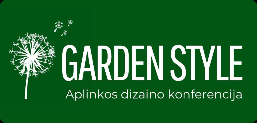 Aplinkos dizaino konferencija Vilniuje - Garden style